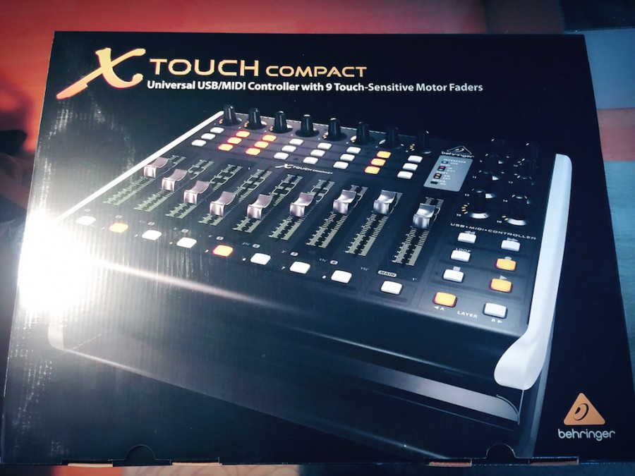 Behringer X-touch compact 간단한 사용후기^^
